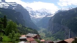 Jungfrau, Lauterbrunnen Switzerland.