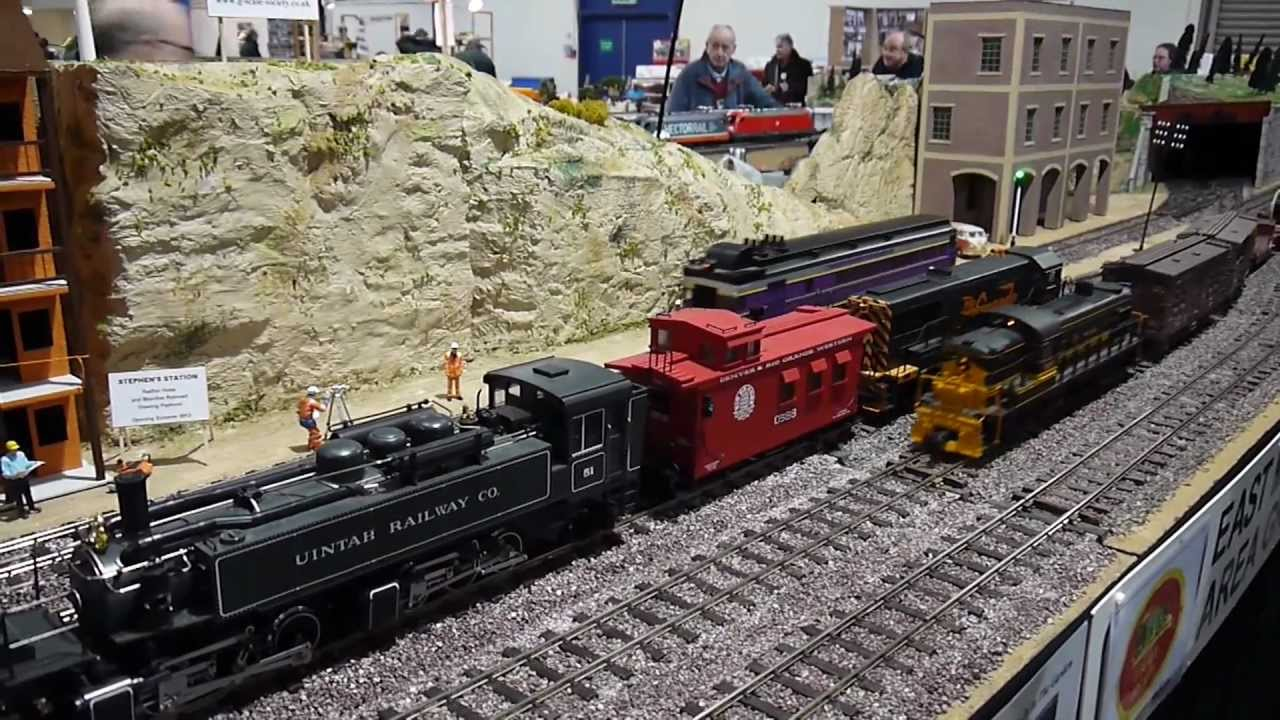 Midlands Garden Railway Exhibition Compilation March 2013 G Scale ...