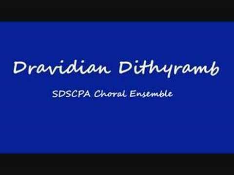 Dravidian Dithyramb - Choral Ensemble