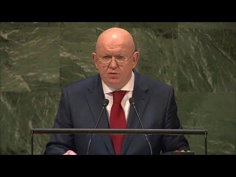 Небензя в ООН