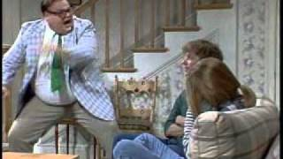 "Chris Farley: Matt Foley    ""how can we get back on the right track.avi"""