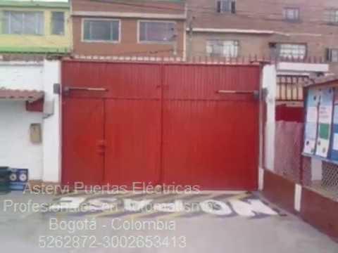 Puertas automaticas de garaje youtube for Puertas automaticas garaje