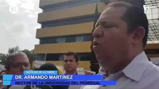 PGJ y SSC empezaron a buscar a Norberto a las 72 horas, asegura rector