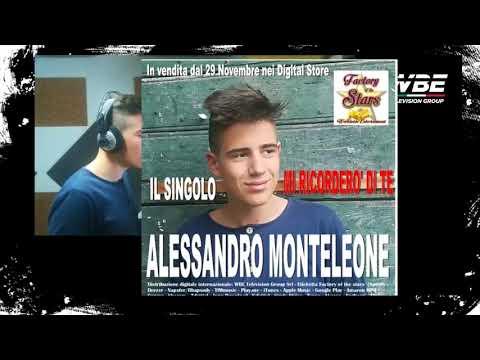 """WBE TELEVISION GROUP ANTEPRIMA SPOT """"MI RICORDERO' DI TE"""" IL SINGOLO DI ALESSANDRO MONTELEONE"""