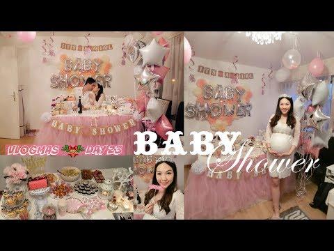 VLOGMAS DAY 23♥ BABY SHOWER   ANGELBIRDBB