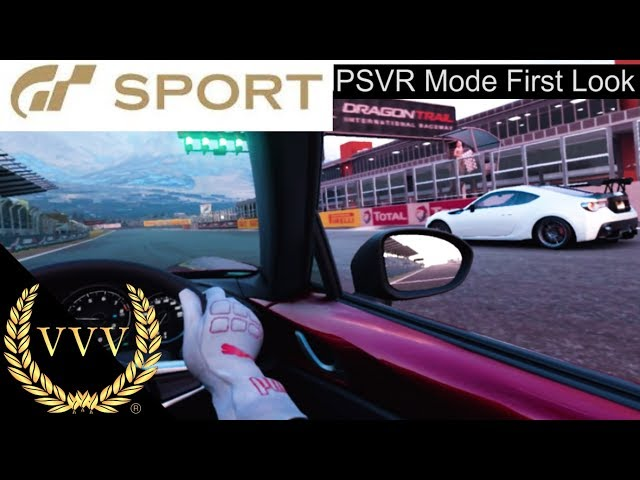 Gran Turismo Sport PSVR Mode First Look