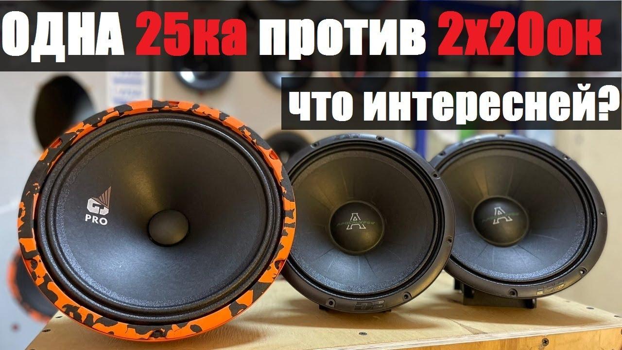 Динамики для повседнева. Одна 25ка зарубается с двумя 20тками одновременно. Обзор DL Audio PRO 250.