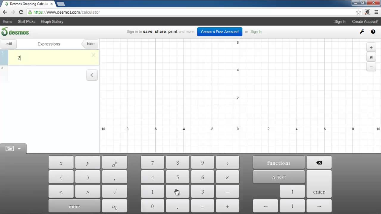 How To Use Free Graphing Calculator Online
