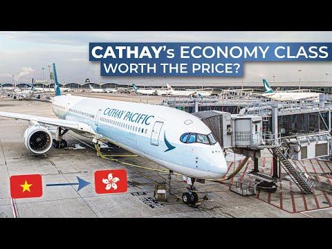 TRIPREPORT | Cathay Pacific (ECONOMY) | Airbus A350-900XWB | Ho Chi Minh City - Hong Kong