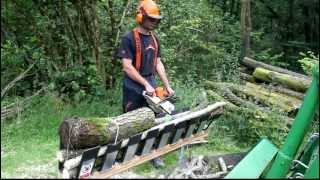 Just How Fast The Truncator Chainsaw Saw Horse Is