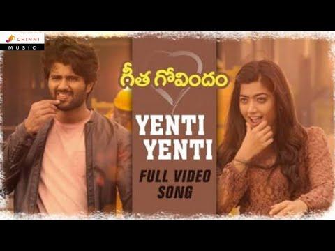 Yenti Yenti Full Video Song    Geethagovindham Movie