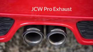 JCW Pro Exhaust First Look (Carbon Fiber Tips!)