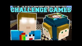 PopularMMOs Pat and Jen Minecraft: CRAINER CHALLENGE GAMES - Lucky Block Mod - Modded Mini-Game