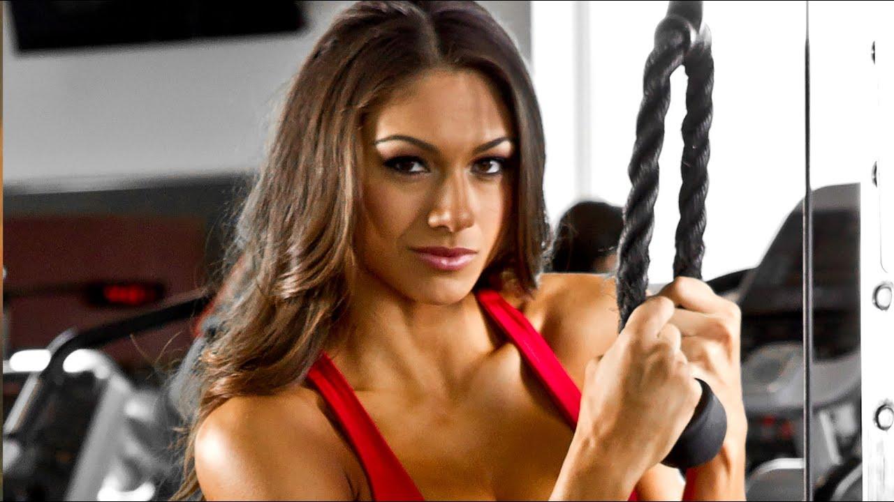female fitness motivation - IFBB Bikini Pro Janet Layug