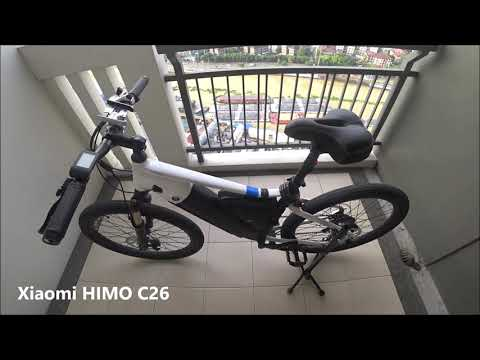 Review And Unboxing E Bike Xiaomi Himo C26