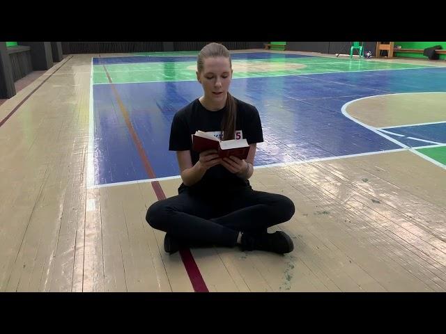 Кокорева Виктория читает произведение «Полевые цветы» (Бунин Иван Алексеевич)
