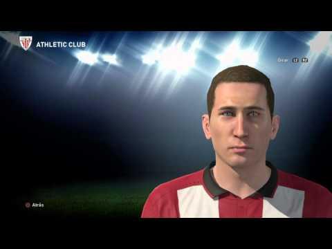 Oscar De Marcos face (Athletic Club de Bilbao) PES 2016