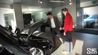 McLaren 12C Full Induction Tour at McLaren Manchester