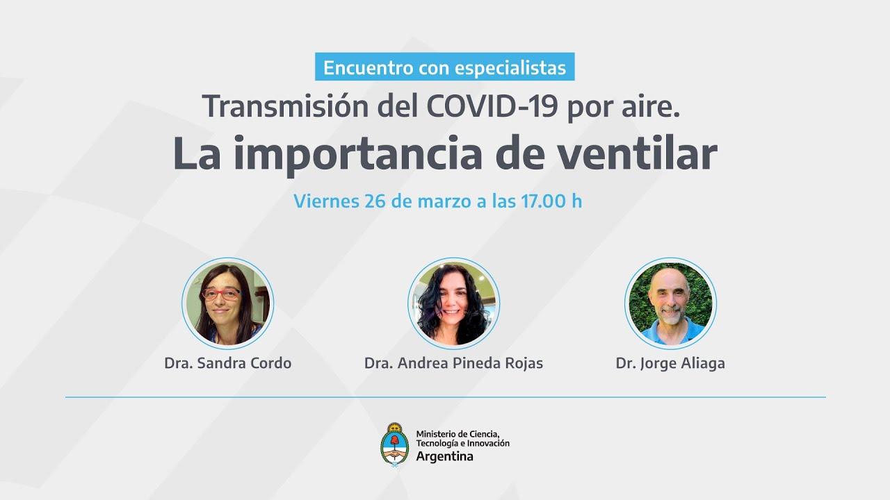 Importancia de la ventilación para la prevención de la COVID-19.