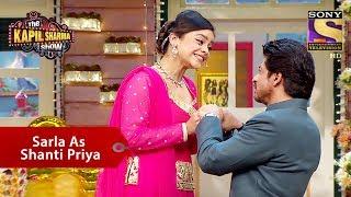 Sarla As Shanti Priya - The Kapil Sharma Show