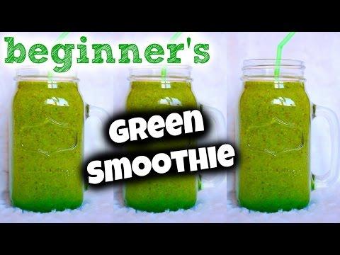 BEGINNER's GREEN SMOOTHIE! (3 Easy Steps)