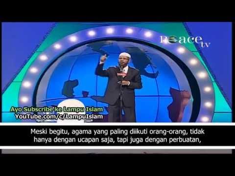 Kecerdasan Dr. Zakir Naik Diuji Wanita Hindu