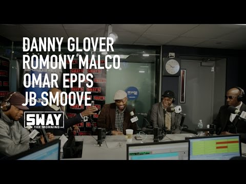 "Danny Glover, Omar Epps, JB Smoove & Romany Malco Speak on ""Almost Christmas"" on Sway in the Morning"