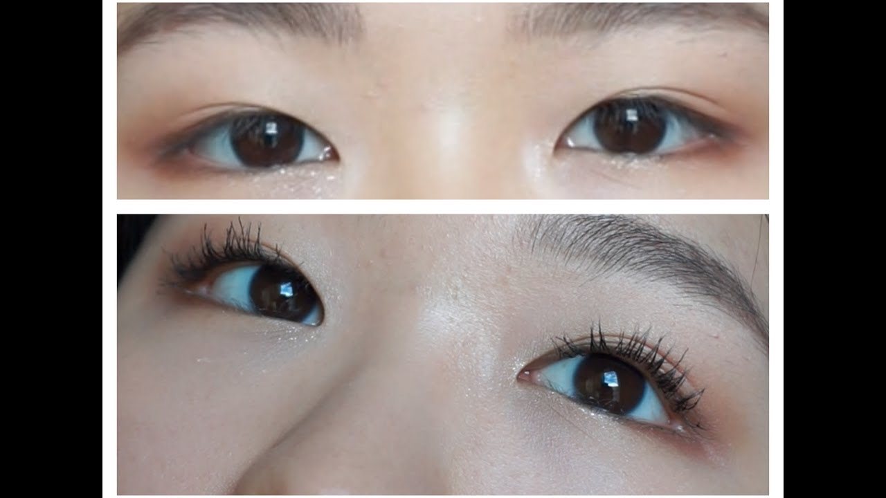 Best Way To Curl Straight Lashes For Hooded Or Asian Eyes Youtube