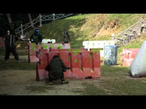 Crossfire Paintball - GG Red