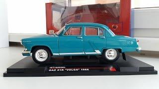 ГАЗ 21 Р 1966 1:18 IST . Обзор модели 21-й Волги .