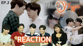 EP.2 Reaction! ธารไทป์ TharnType the Series SS2 (7 years of love) #หนังหน้าโรงxTharnTypeSS2EP2
