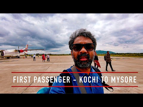 New Flights to Mysore - Kochi to Mysore | Goa Hyderabad and Bangalore | Mysore Airport