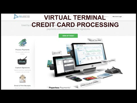 VIRTUAL TERMINAL CREDIT CARD PROCESSING | PAYJUNCTION REVIEW