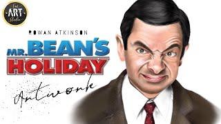 Mr Bean | Rowan Atkinson Digital Painting