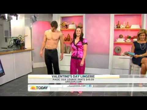Silk Knit Men's Lounge Pants by Magic Silk - Today Show