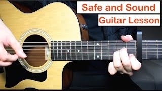 Baixar Safe and Sound - Taylor Swift Guitar Lesson Tutorial Chords ft. Civil Wars