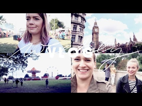 TOURITAG IN LONDON & WILDERNESS FESTIVAL FREUDE | Consider Cologne Weekly Vlog