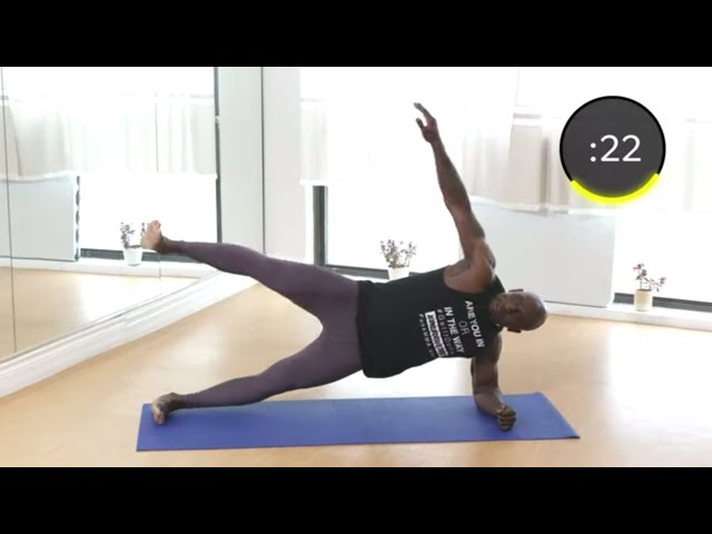 20 Minute At Home HIIT Workout - No Equipment - Bodyweight Only