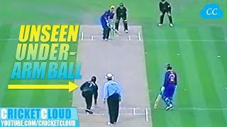 LAST OVER DRAMA | ANOTHER UNSEEN UNDERARM BALL | NZ VS FICA WORLD XI 2005 !!