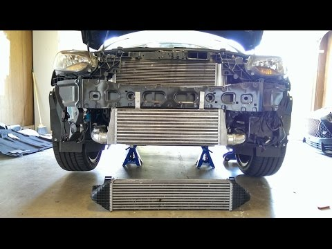 HOW TO: Ford Focus ST Front Mount Intercooler