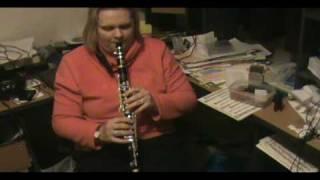 New C clarinet 8th July 2010