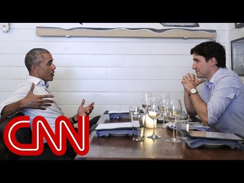 The Obama-Trudeau bromance: Enjoy!