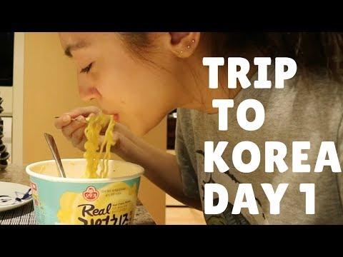 Trip to Korea Day 1 VLOG 21