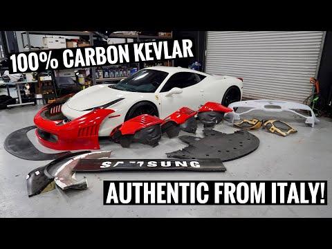 I Bought a Ferrari GT3 458 Widebody Kit!
