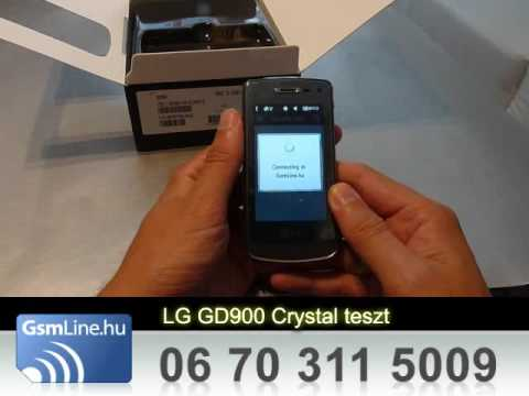 LG GD900 CRYSTAL teszt 01 | www.GsmLine.hu