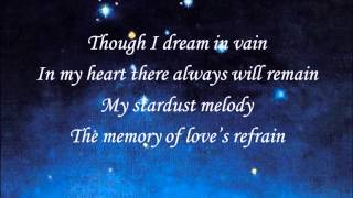 Willie Nelson-Stardust (with Lyrics)