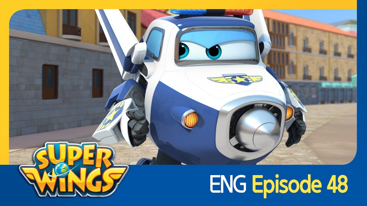 super wings ep 48 the good knight eng youtube. Black Bedroom Furniture Sets. Home Design Ideas