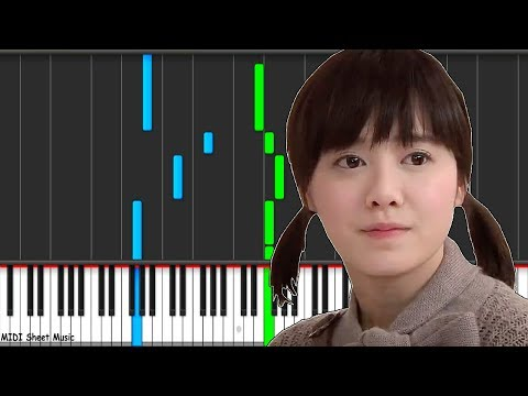 BOF - I Don't Know Anything But Love Piano midi