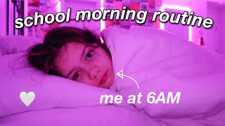my REAL online school morning routine 2021