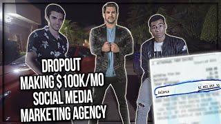 How A 22 Year Old Built A $112k/mo Social Media Marketing Agency w/ Tai Lopez #1 Student